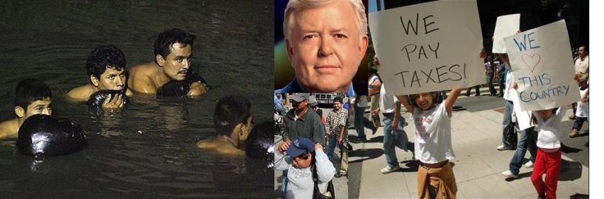 Dobbs y los inmigrantes ilegales
