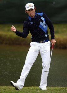 Camilo Villegas lidera el torneo Buick Invitational. Photo Donald Miralle/Getty Images, en golf.com