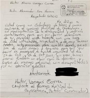 carta de hector
