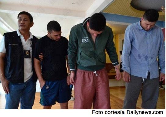 Tres colombianos arrestados en junio de 2015 por apartamenteros