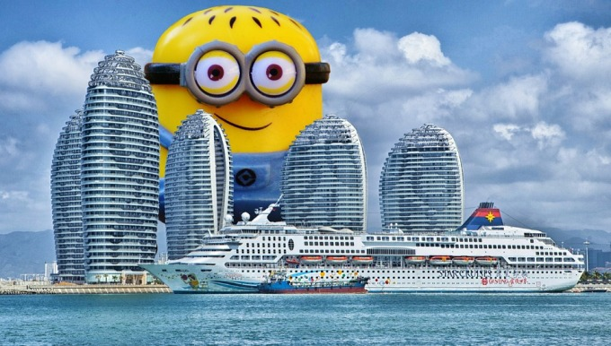 Minion em crucero