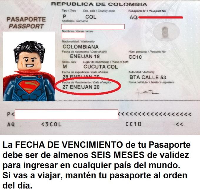 Pasaportes | Pasaporte Colombiano